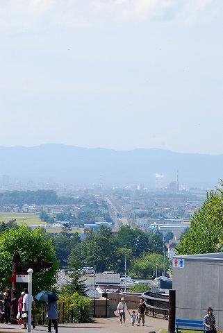 旭山動物園からの眺め'11.8.29