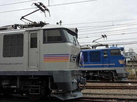EF510-501&EF510-510@大宮車両センター'11.10.15