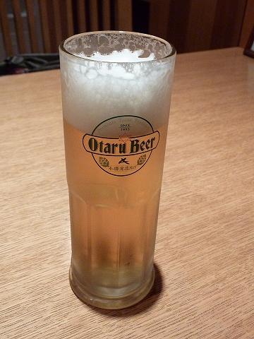 小樽ビール'11.8.29