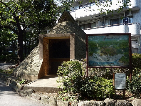 竪穴式住居@東山貝塚公園'11.10.27