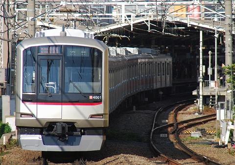 東急4000系@自由が丘'11.10.27
