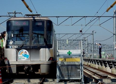 横浜市営地下鉄10000形@川和車両基地'11.10.29-1