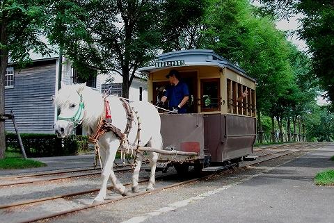 馬車鉄道@開拓の村'11.8.30-2