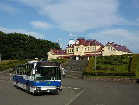 JRバス@開拓の村'11.8.30