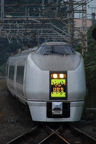 特急スーパーひたち42号@取手'11.11.3
