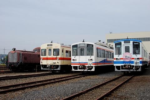 車両展示@水海道車両基地'11.11.3