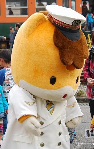 ぐんまちゃん@新前橋トレインフェスタ'11.11.5