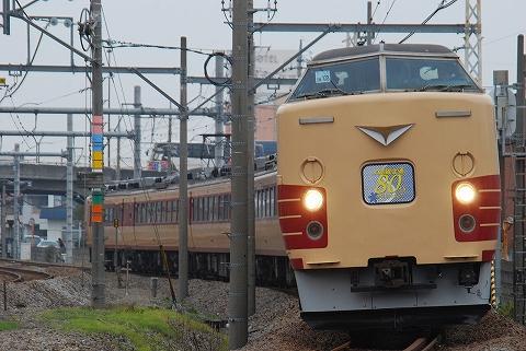 快速上越線全通80周年記念号@新前橋'11.11.5