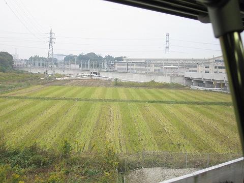 車窓@イベント会場直通列車'07.11.3