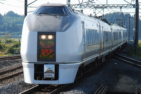 特急スーパーひたち11号@高浜'11.11.12