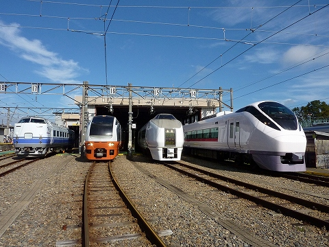 車両展示@勝田車両センター'11.11.12