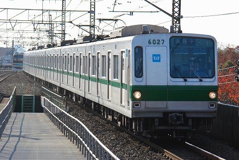 東京メトロ6000系@亀有'11.11.26