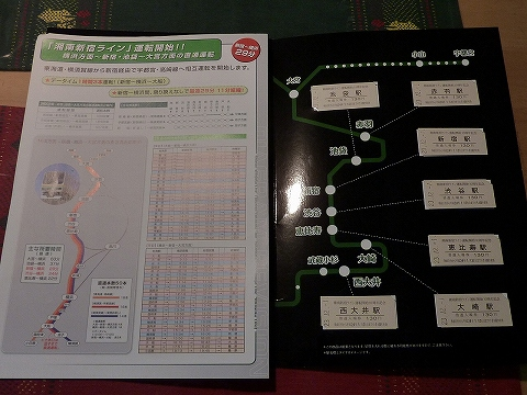 湘南新宿ライン運転開始10周年記念入場券