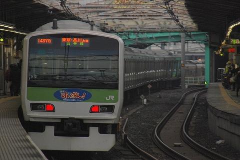 E231系@鶯谷'11.12.5