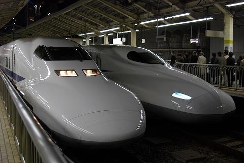 700系&N700系@東京'11.12.9