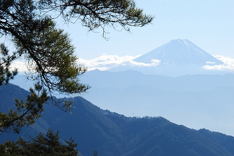 富士山@昇仙峡'11.12.27