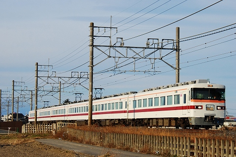 東武350系@姫宮'12.1.3