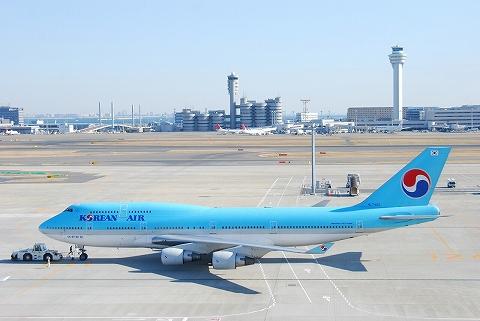 KEボーイング747-400@羽田空港'12.2.11