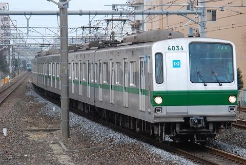 東京メトロ6000系@新松戸'12.3.4
