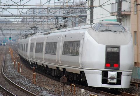 651系@新松戸'12.3.4