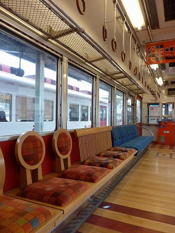 座席@おもちゃ電車