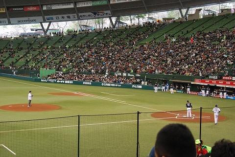 始球式@西武ドーム'12.4.7