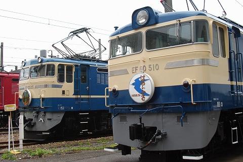 EF60-510&EF65-535@大宮総合車両センター'11.10.15