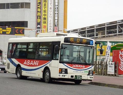 朝日バス@太田駅前'12.4.22