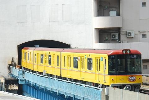 東京メトロ1000系@渋谷'12.4.28-1