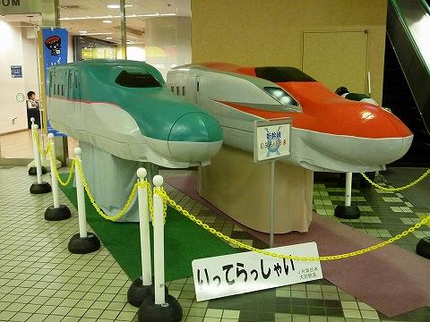 E5系&E6系模型@大宮'12.5.7