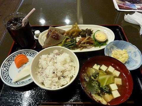 ランチメニュー@秩父ふるさと館'12.5.13