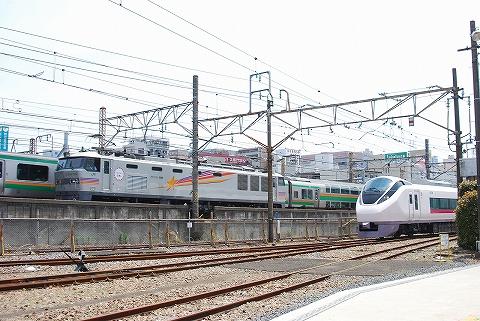 E657系&EF510形@大宮総合車両センター'12.5.26