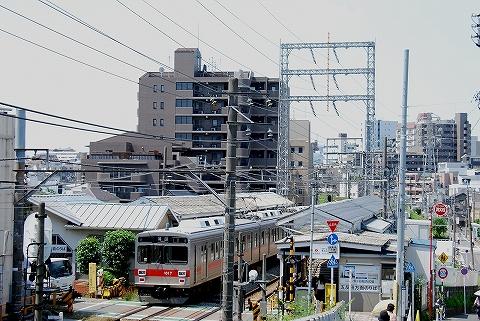 東急1000系@石川台'12.5.27