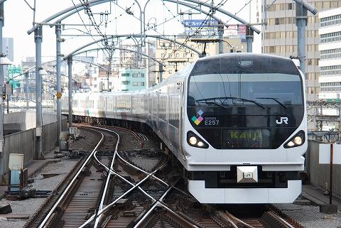 E257系@東京'12.6.13