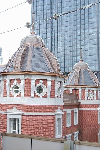 屋根部分@東京駅