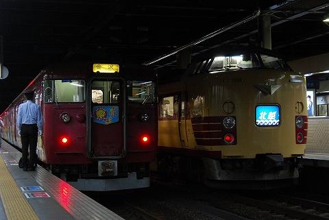 415系&485系@金沢'12.6.8