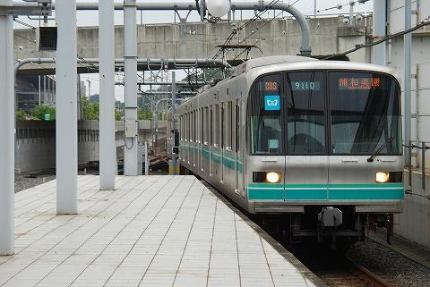 東京メトロ9000系@浦和美園'12.7.20