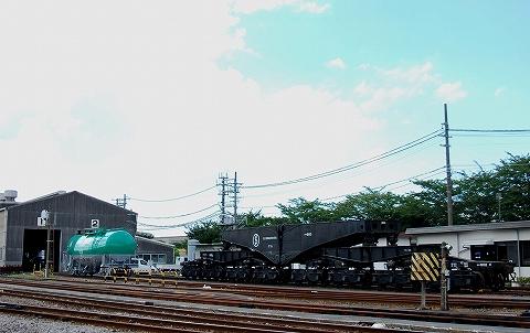 京葉臨海シキ600形@千葉貨物駅'12.8.18