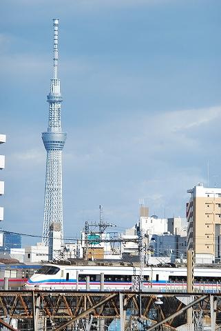京成AE100形@日暮里'12.8.19