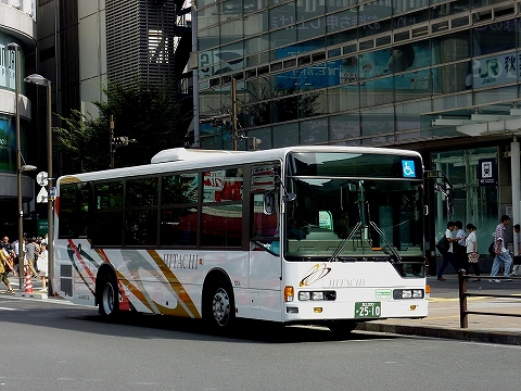 日立自動車交通バス@秋葉原'12.8.29