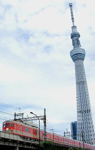 東武8000系@とうきょうスカイツリー'12.9.2-3