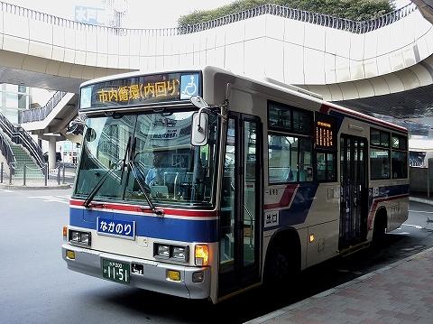 茨城交通バス@水戸駅前'12.9.5