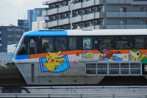 東京モノレール1000形@大井競馬場前'12.9.15-1