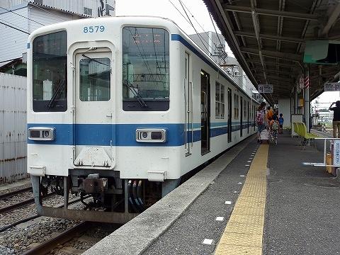 東武モハ8579@赤城'12.9.16