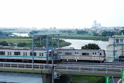 東京メトロ7000系&9000系@多摩川'12.10.6