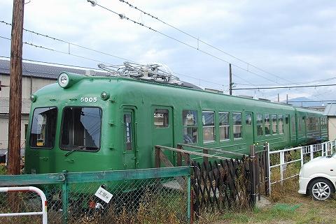 松本電鉄5000系@新村'12.10.7