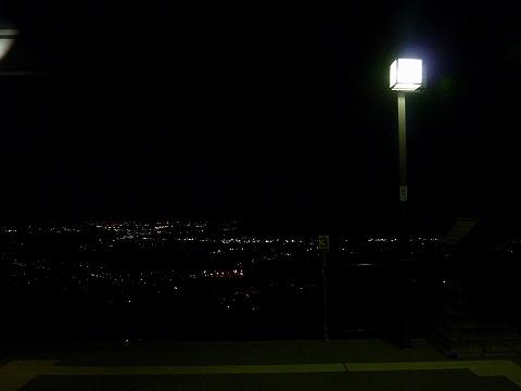 夜景@姨捨'12.10.7