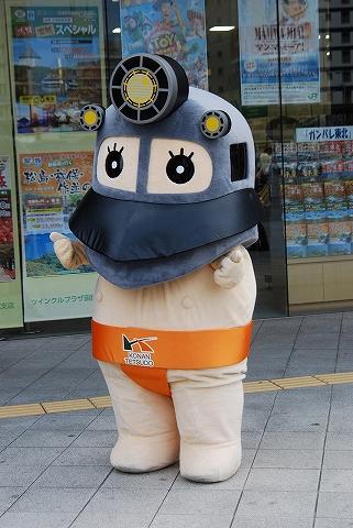 ラッセル君@函館駅前'12.9.21