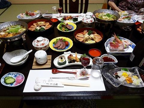 夕食@一乃松
