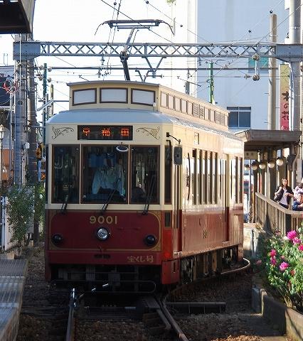都電9000形@三ノ輪橋'12.10.21
